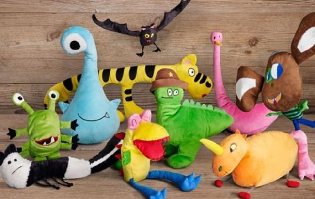 IKEA на основе детских рисунков создала мягкие игрушки
