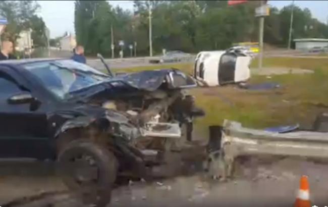 Смертельна ДТП з таксі в Києві: одна людина загинула, п