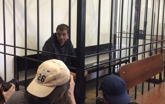 Фото РБК-Україна: Андрій Медведько на засіданні суду
