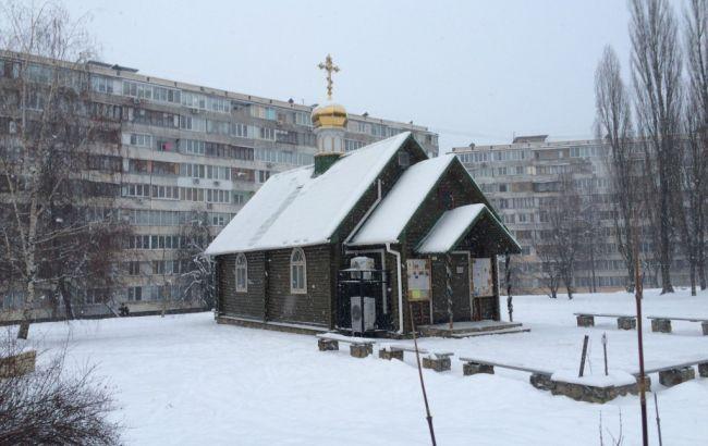 ВКиеве Храм Московского патриархата забросали «коктейлями Молотова»