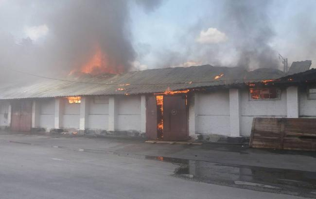 Фото: пожежа у Вінницькій області (vn.dsns.gov.ua)