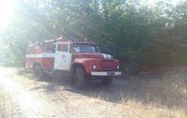 Фото: пожарный автомобиль (пресс-центр ГСЧС)