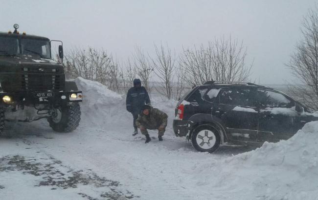 Фото: спасательная операция под Одессой