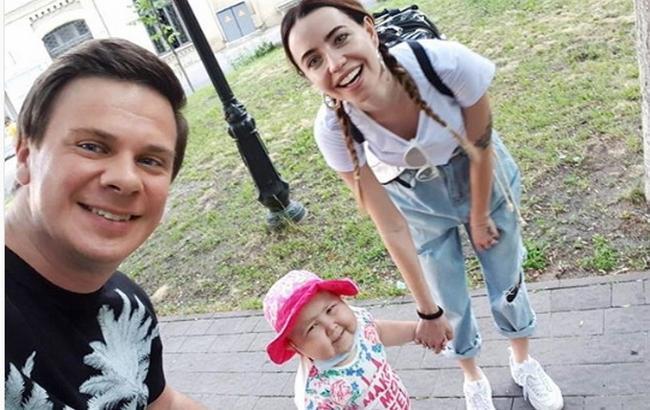 Фото: Надя Дорофєєва та Дмитро Комаров (instagram.com/nadyadorofeeva)