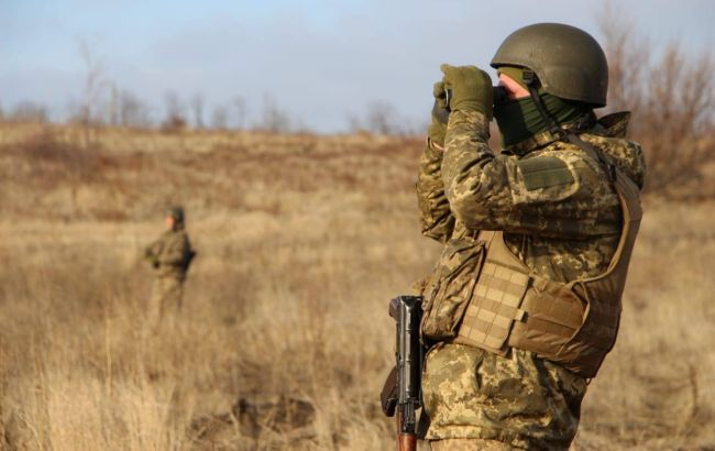Боевики на Донбассе обстреляли наблюдательный пункт, есть погибший и раненый