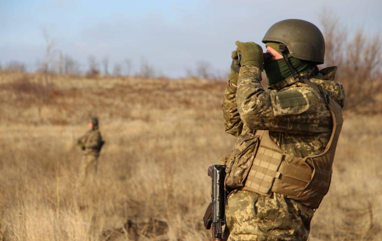 """Боевики на Донбассе дважды нарушили """"тишину"""". У Марьинки работал вражеский снайпер"""