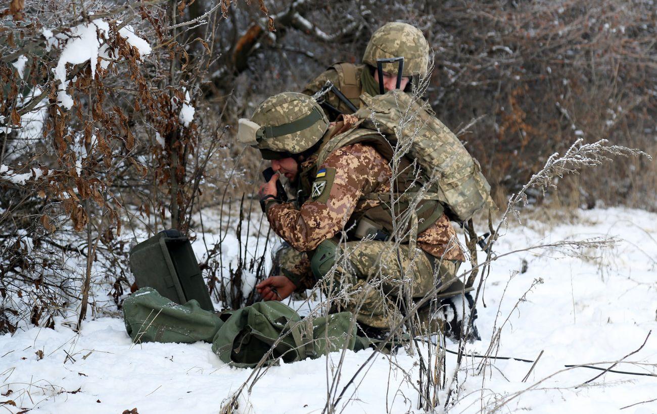 На Донбассе от выстрела снайпера погиб украинский военный