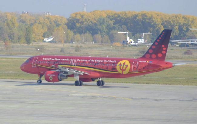 Бельгійська авіакомпанія здійснила перший рейс в Україну