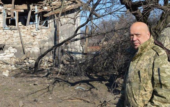 В Луганській обл. батько і син загинули, підірвавшись на розтяжці, - Москаль