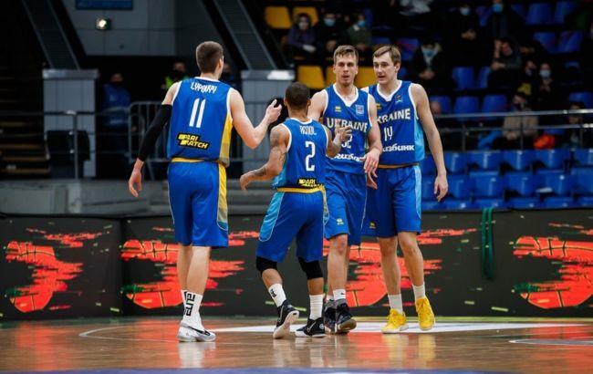 Збірна України вийшла на Євробаскет-2022 з першого місця розгромивши Угорщину