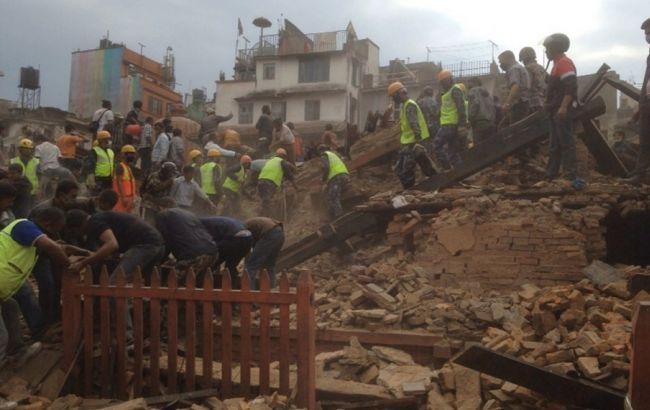 Землетрясение в Непале нанесло ущерб 6,6 млн человек