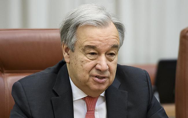 Генсек ООН призывает к реализации соглашения по Идлибу