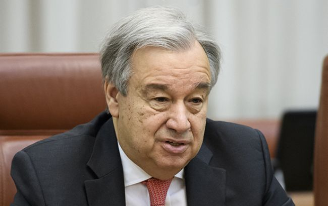 Гутерріш закликав активізувати переговорний процес щодо ситуації на Донбасі