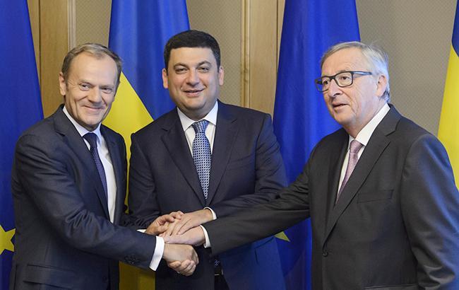 Саміт Україна-ЄС: Гройсман пропонує почати переговори про нову програму співпраці