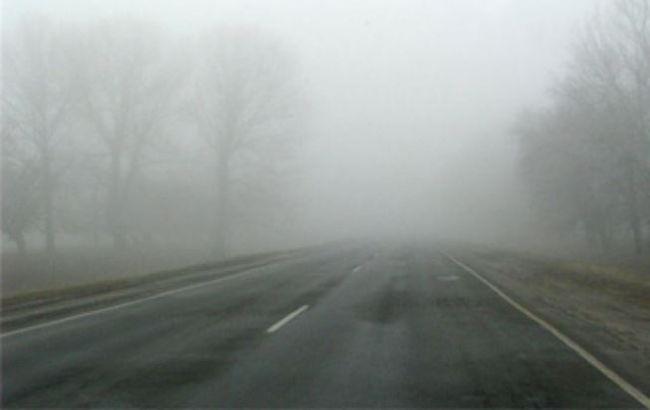 Фото: водителей предупреждают о недостаточной видимости на дорогах