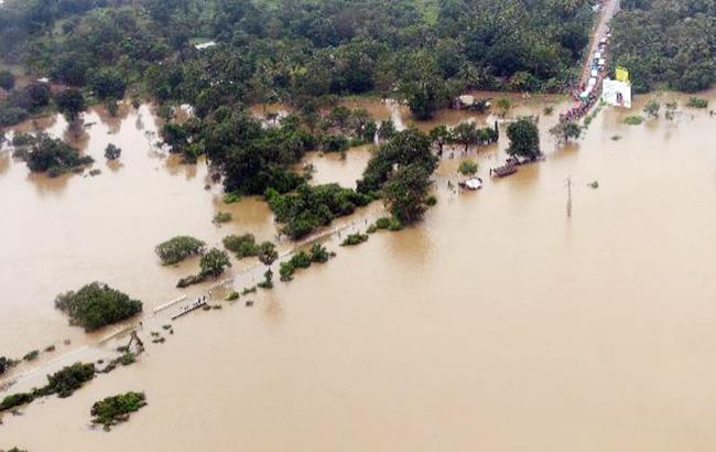 Фото: наводнение на Шри-Ланке (iManishPatelBJP twitter)