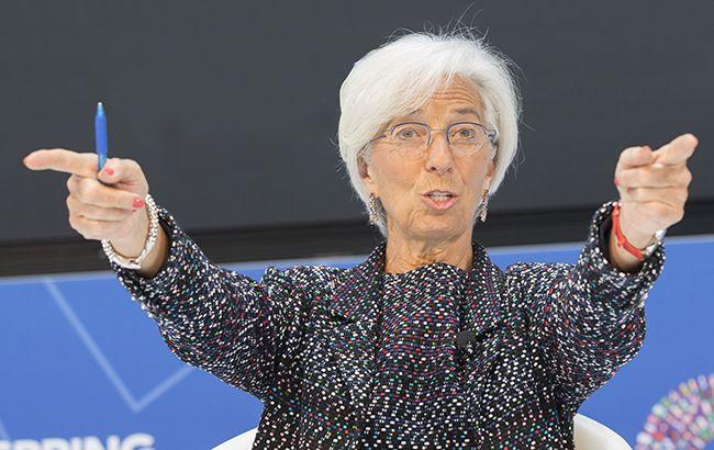 Лагард розпочала роботу на посаді глави ЄЦБ