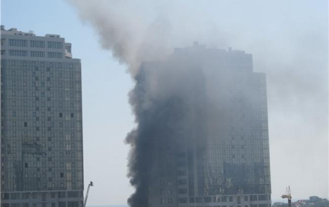 Пожар в Одессе ликвидирован, - ГСЧС