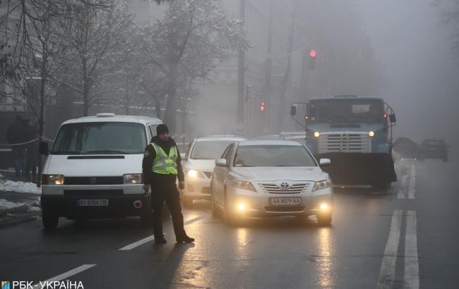 Синоптики предупреждают о тумане и гололедице в Украине