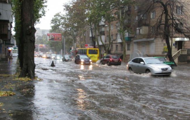 Фото: Потоп в Одессе (odessa-life.od.ua)