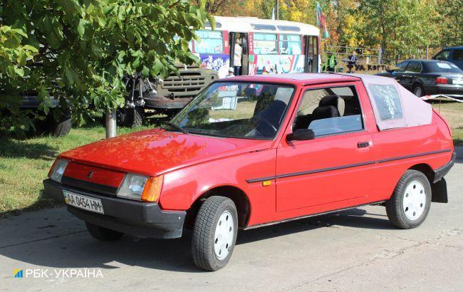 ТОП-3 самых необычных украинских автомобиля, которые покажут на фестивале Old Car Land в Киеве