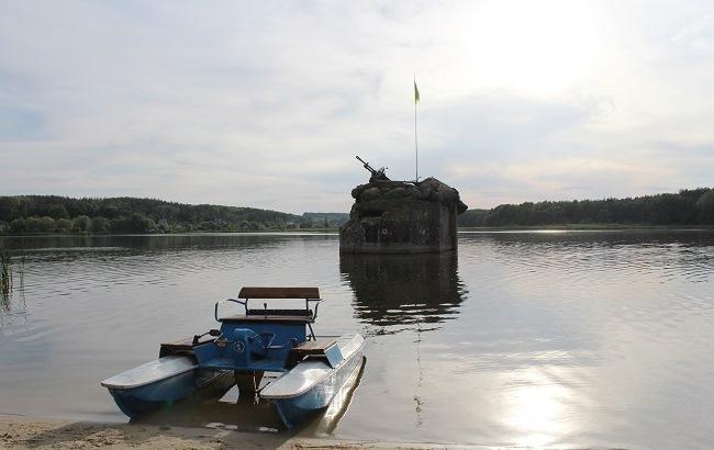 Фото: ДОТ№127 розташувався в самому мальовничому місці (РБК-Україна)