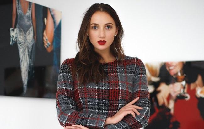 Ганна Різатдінова для бренду ANNA YAKOVENKO (фото: Крістіан Тубольцев)