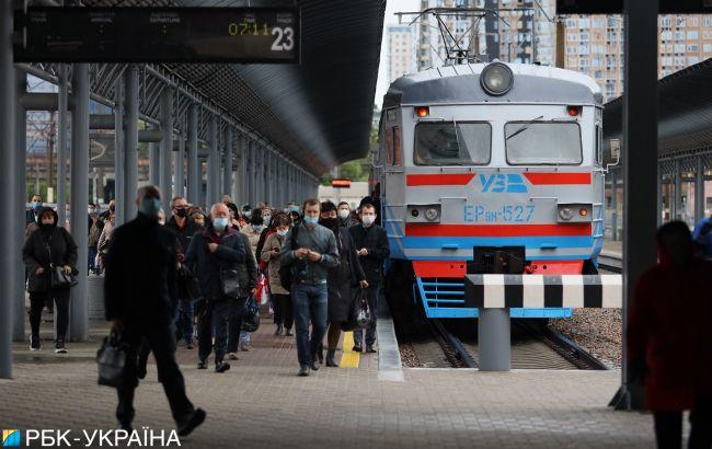 """""""Укрзализныця"""" не получила разрешения на поездки из пяти областей"""