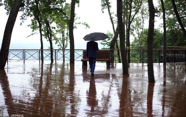 Сегодня в большинстве областей Украины пройдут дожди