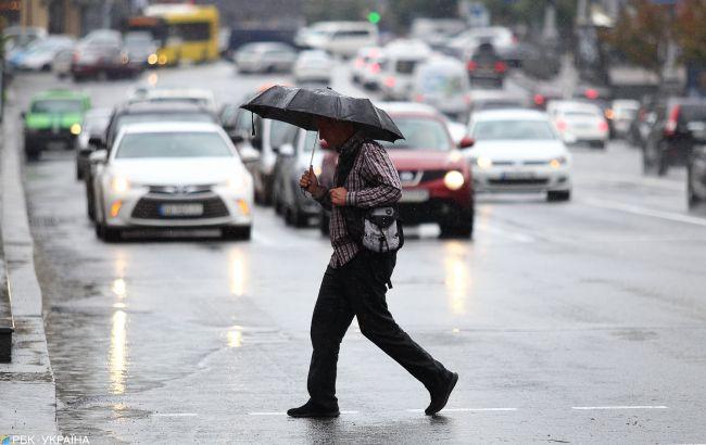 Сьогодні Україну охопить дощова погода