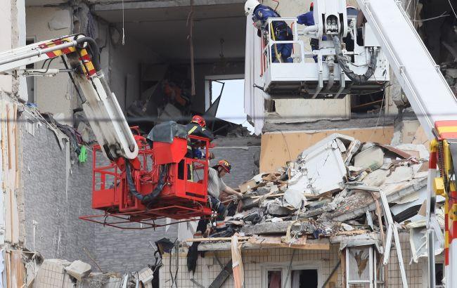 Взрыв на Позняках: возможно дальнейшее разрушение дома