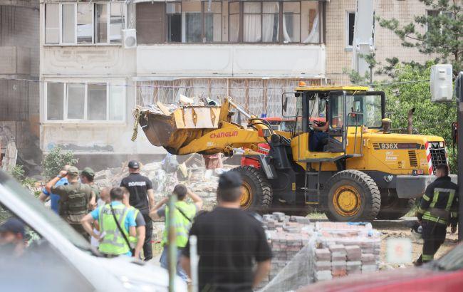 Спасатели уточнили количество жертв взрыва на Позняках
