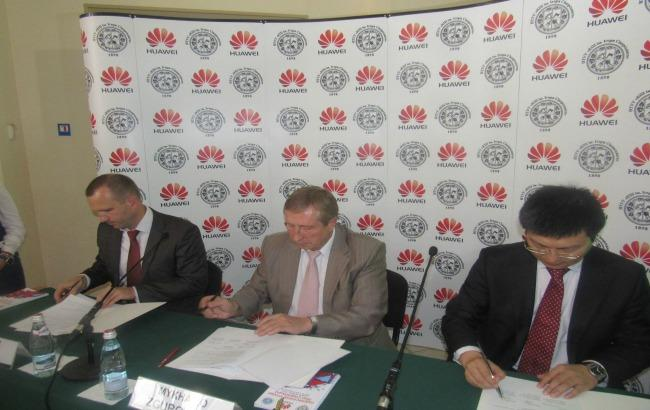 Фото: КПИ будет сотрудничать с Huawei