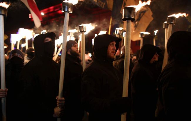 Фото: смолоскипна хода в Києві (РБК-Україна)