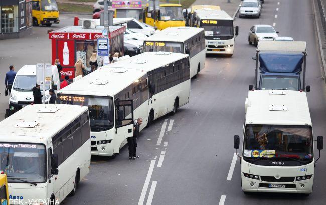До столицы за 100 гривен: проезд в маршрутках под Киевом взлетел до космических размеров