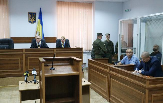 Фото: отбор присяжных (sud-report.org.ua)