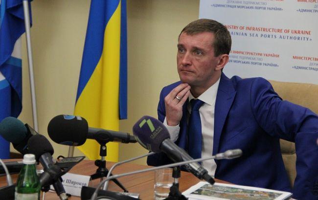 Фото: Максим Широков на прес-конференції (джерело фото: АМПУ)