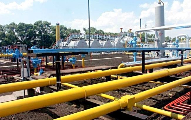 Украина начала снижать импорт газа