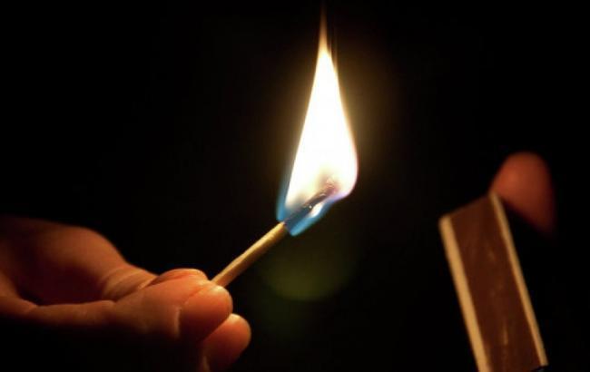 В Кривом Роге мужчина с удостоверением участника АТО устроил акт самосожжения (фото)