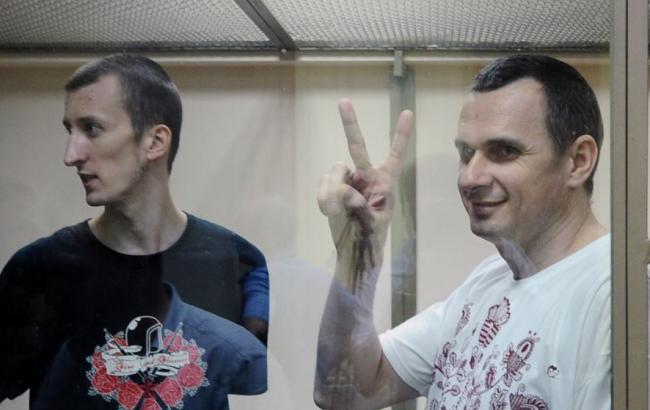 МЗС України закликало негайно звільнити Сенцова і Кольченка