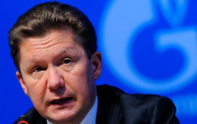 """Фото: глава правления """"Газпрома"""" Алексей Миллер"""