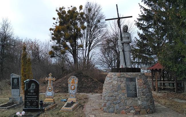 Памятник жертвам Голодомора в с. Тарган (Киевская область)