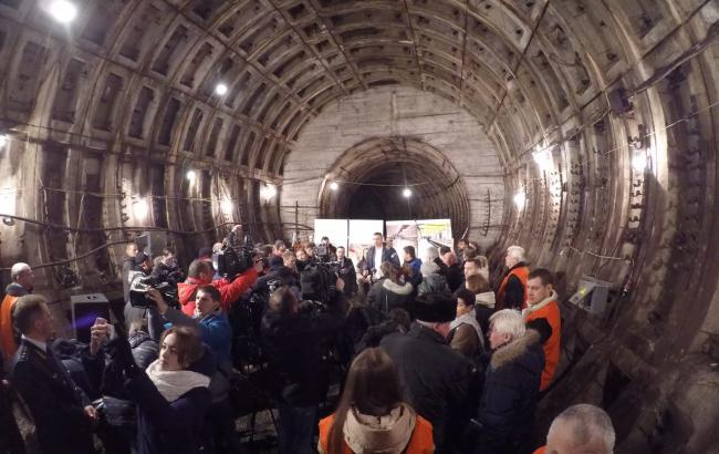 В «Киевском метрополитене» поведали, сколько будет стоить строительство метро наВиноградарь