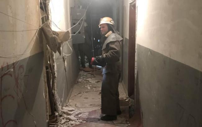 В Кривом Роге произошел взрыв в многоэтажке, есть пострадавшие