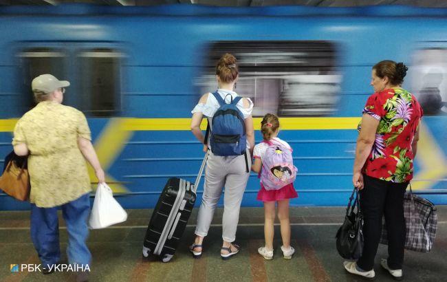 Рух метро в Києві на червоній гілці відновили