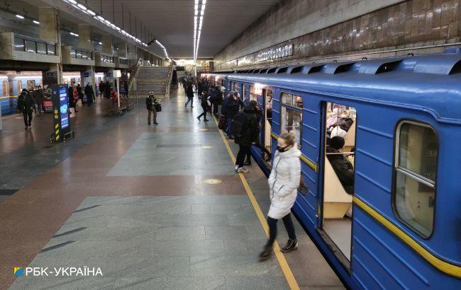 В Киеве могут изменить работу метро во время локдауна