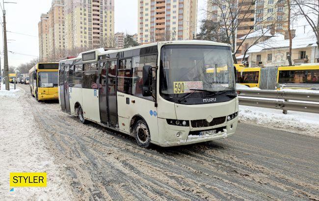 Уже в эту субботу: в маршрутках Киева дорожает проезд