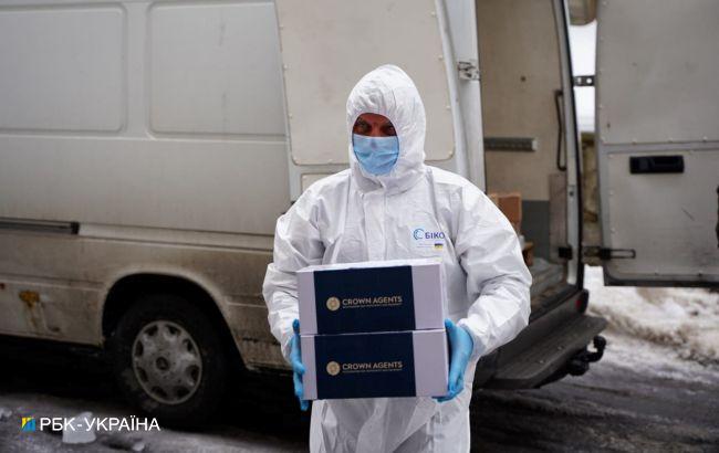 Ще одна область України отримала першу партію COVID-вакцини