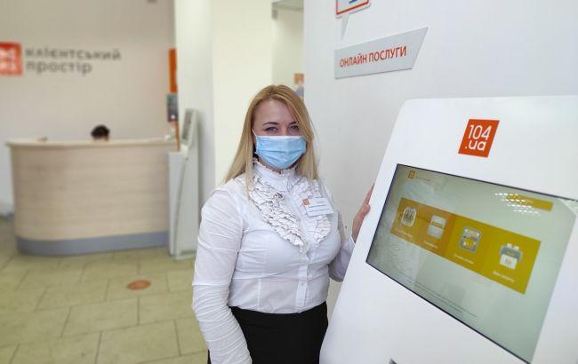 В 104.ua Клиентские пространства поступила первая партия терминалов самообслуживания