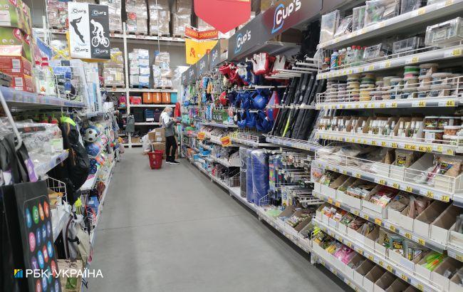 Названа доля украинских продуктов и товаров в розничной продаже